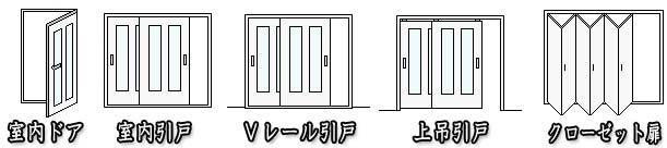 室内ドア・引戸
