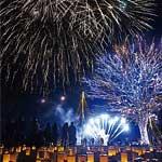 長岡花火ウインターファンタジー2018 @ 国営越後丘陵公園 | 長岡市 | 新潟県 | 日本