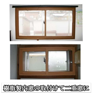 樹脂製内窓