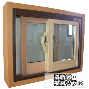 樹脂窓複層ガラス